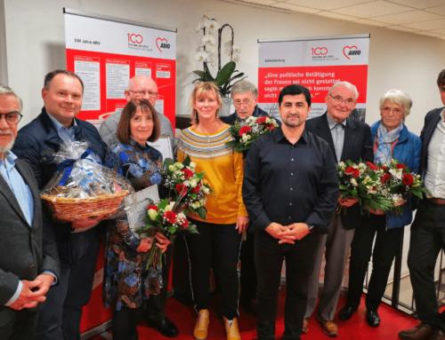 AWO Bayreuth ehrt verdiente Mitglieder