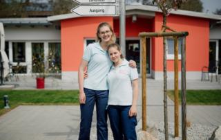 Marie und Lili: Freiwillig engagiert bei der AWO Bayreuth