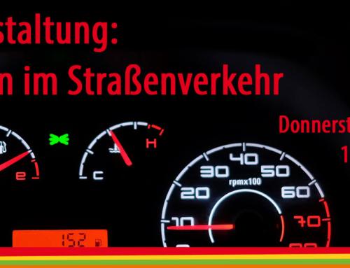 """Jetzt anmelden: Infoveranstaltung zum Thema """"Neuerungen im Straßenverkehr"""" am 31. Oktober"""