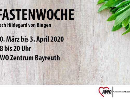 AWO gesund: Fastenwoche nach Hildegard von Bingen (mit Anmeldung)
