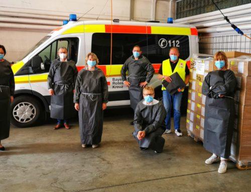 Kräfte bündeln: Bayreuther Wohlfahrtsverbände kümmern sich gemeinsam um Infektionsschutzkittel