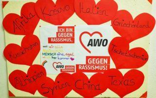 Wir zeigen Flagge: AWO gegen Rassismus